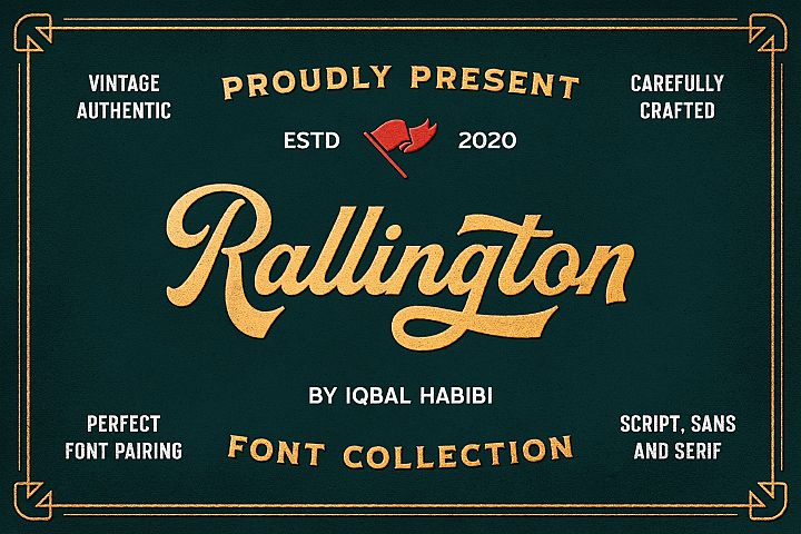 Rallington Font Collection