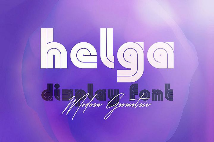 Helga - Display Font