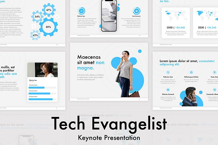 Tech Evangelist Keynote Template