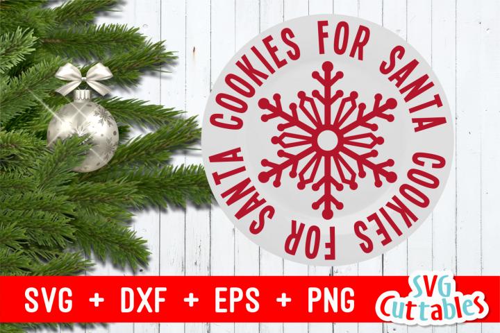 Cookies For Santa | Christmas Cut File