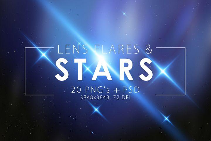 Stars & Flare Pack