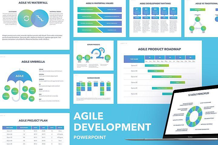Agile Development PowerPoint Template