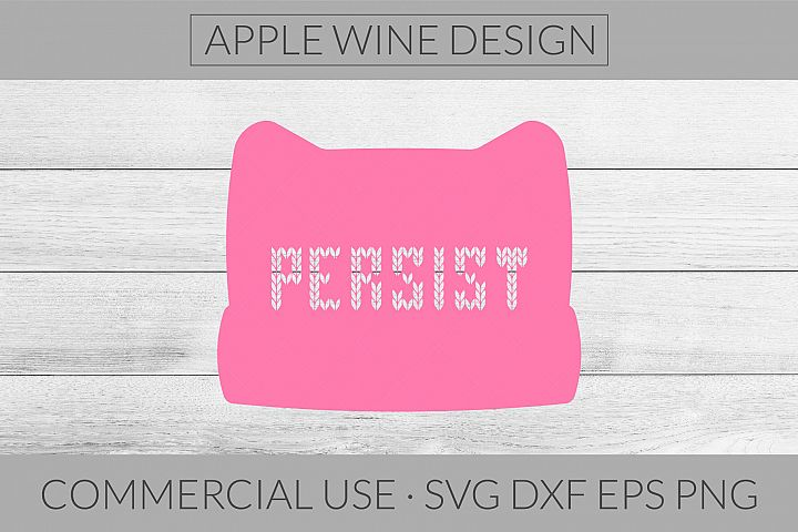 Persist SVG DXF PNG EPS Cutting File
