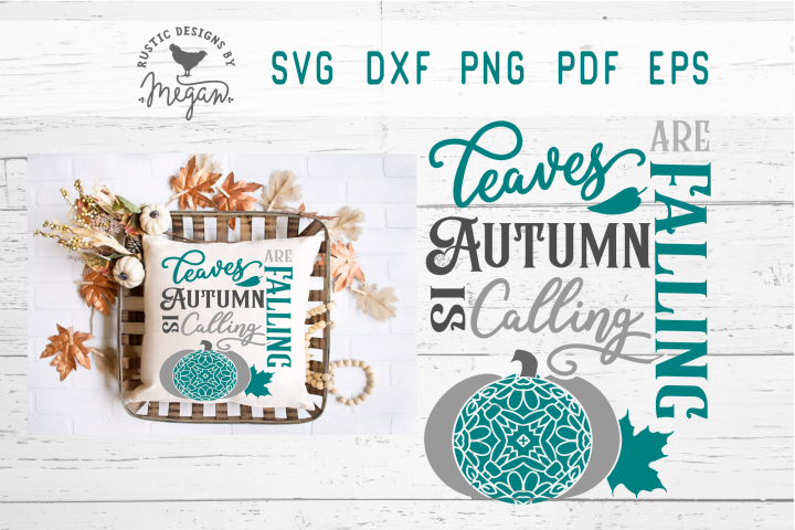 Autumn Is Calling Fall SVG
