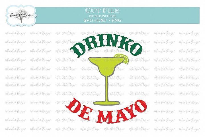 Drinko de Mayo - Cinco de Mayo Margarita - SVG DXF PNG