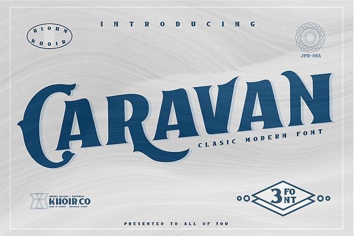 Caravan - Display Font