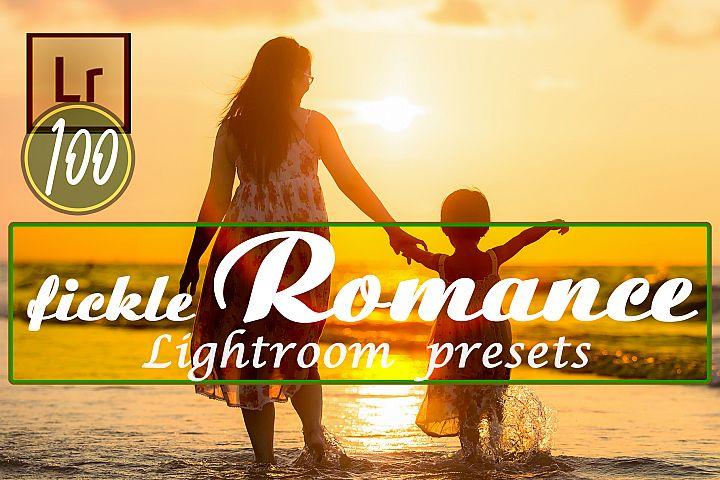 Fickle Romance Lightroom Presets