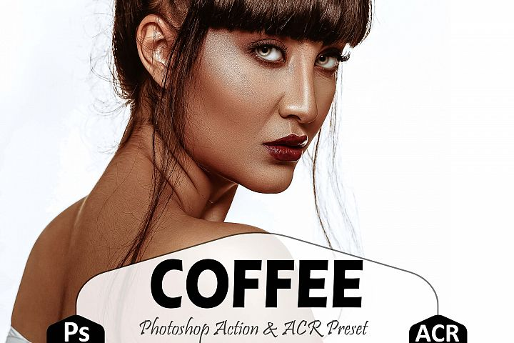 Coffee Photoshop Actions And ACR Presets, instagram preset
