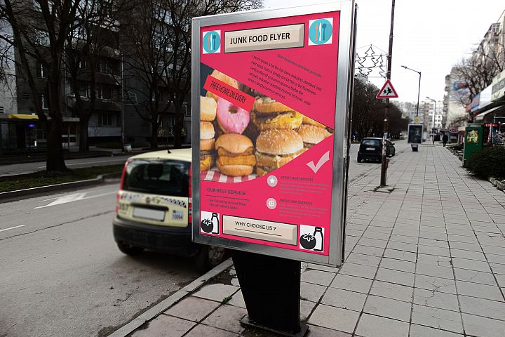 Junk Food Flyer