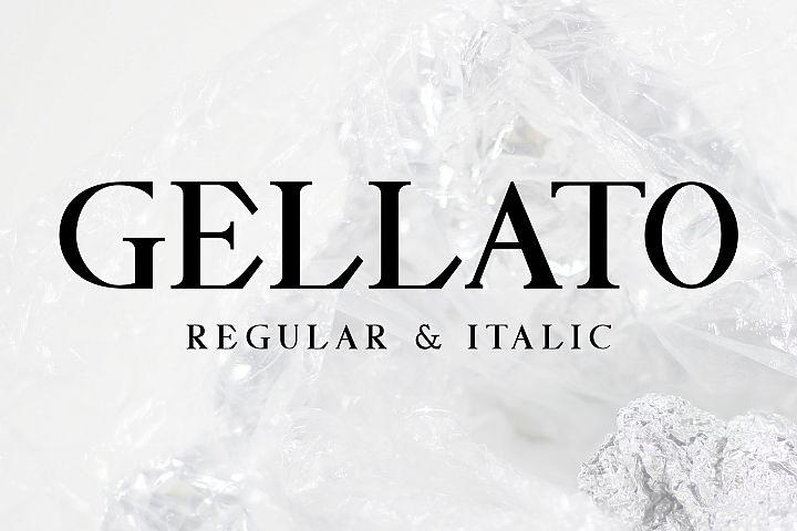 GELLATO // Modern Serif