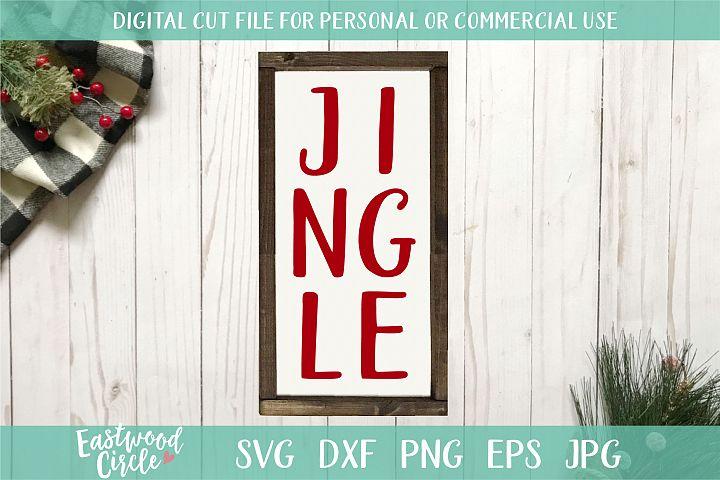 Jingle - A Christmas SVG Cut File