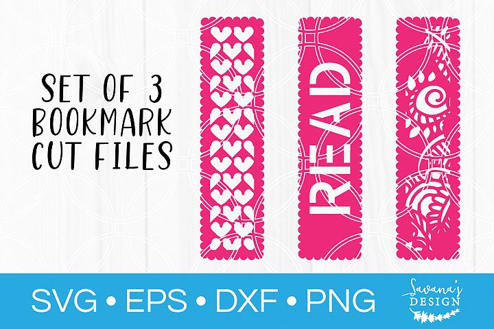 Bookmark SVG Bundle Classroom Teacher Gift SVG Read SVG