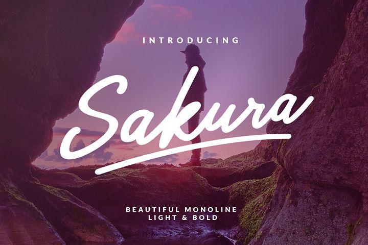 Sakura - Font Family