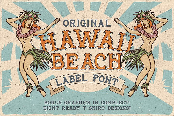 Hawaii Beach Typeface