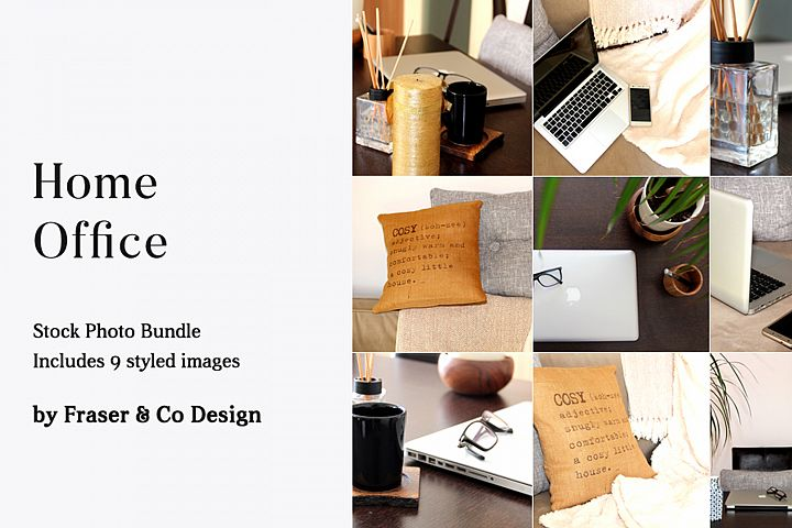 Home Office - Stock Photo Bundle