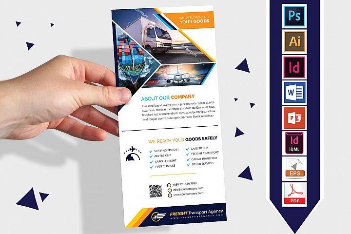 Rack Card | Transport Agency DL Flyer Vol-03