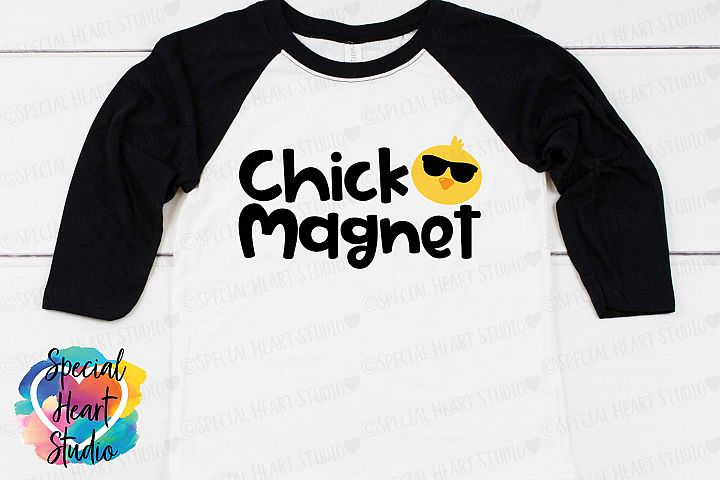 Chick Magnet- Easter SVG Boy Easter
