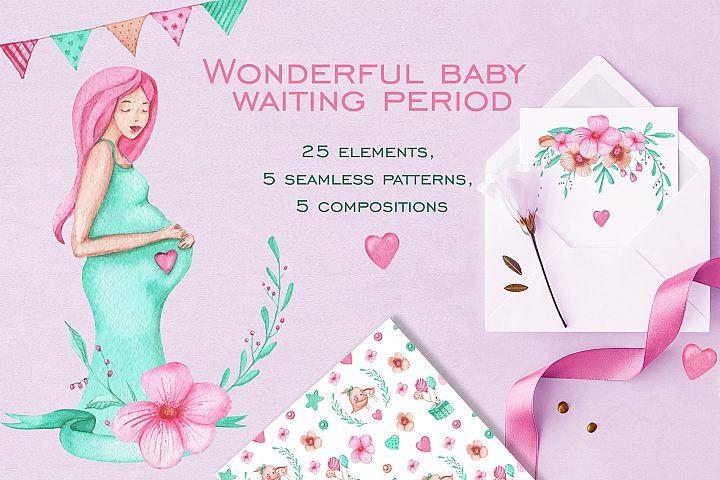Beautiful period of pregnancy
