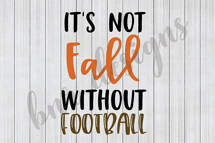 Fall SVG, Football SVG, SVG Files, DXF File