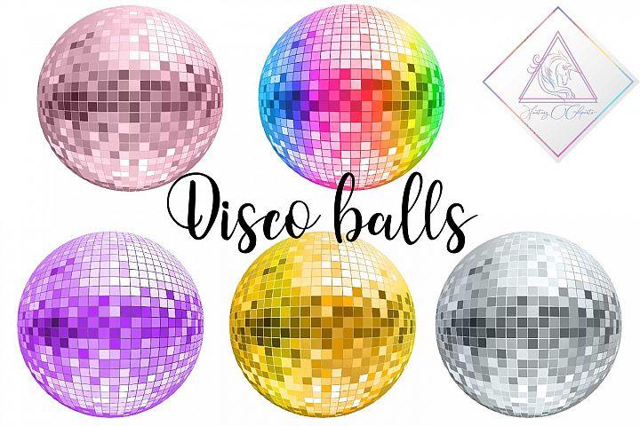 Disco Balls Clipart