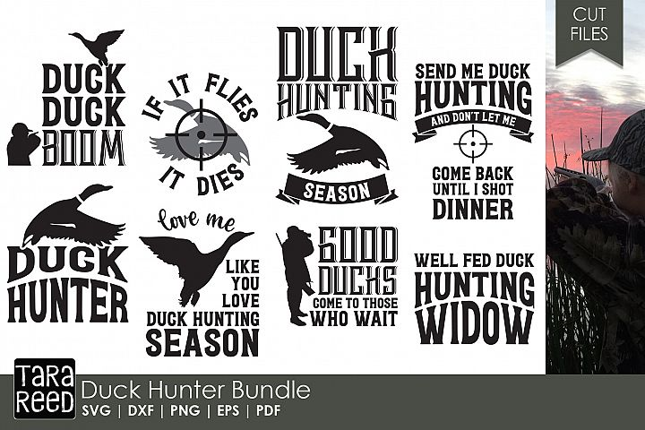 Duck Hunter - Hunting SVG and Cut Files for Crafters