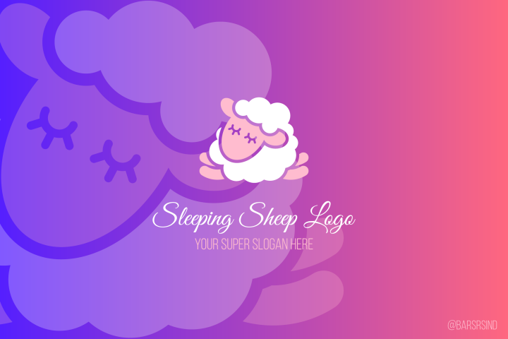 Sleeping Sheep Logotype