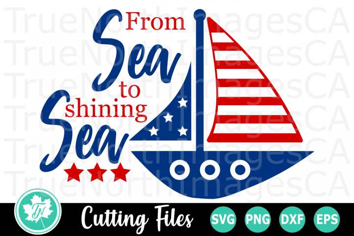 From Sea to Shining Sea - American SVG Cut Files