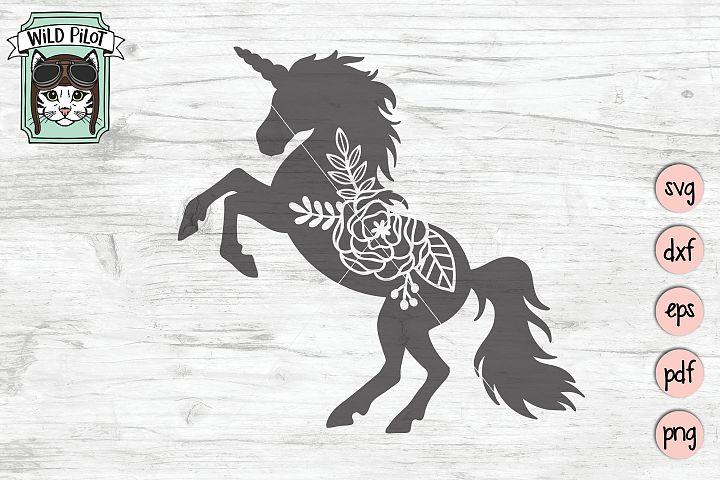 Unicorn SVG file, Unicorn Cut File, Unicorn Silhouette