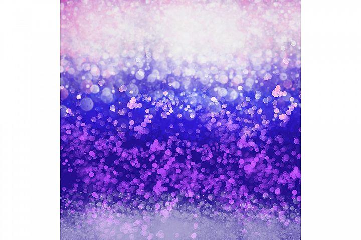 White Blue Purple Sparkle Background