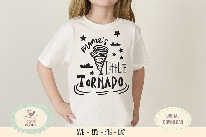 Mamas little tornado SVG cut file mothers day svg