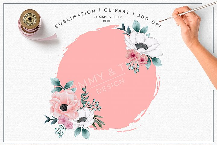 Blank Pink Background - Sublimation PNG Clipart
