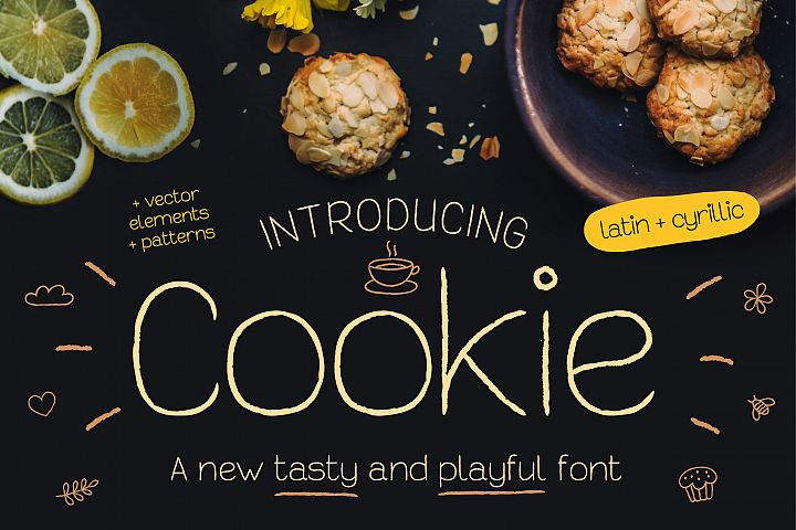 Cookie Font - Free Font of The Week