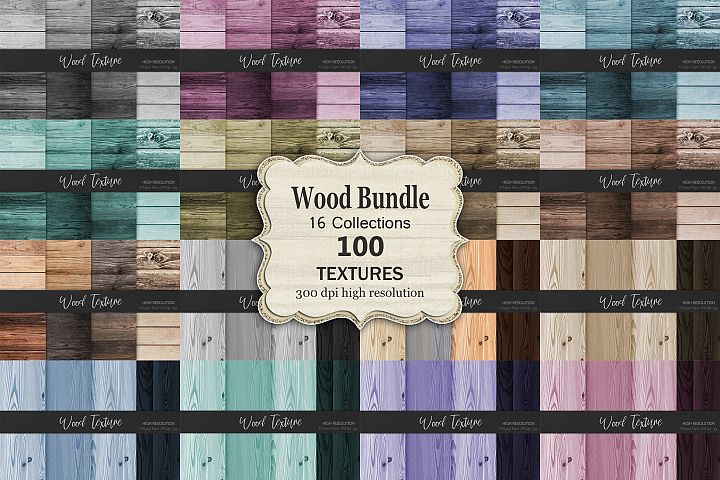 Wood Bundle Textures