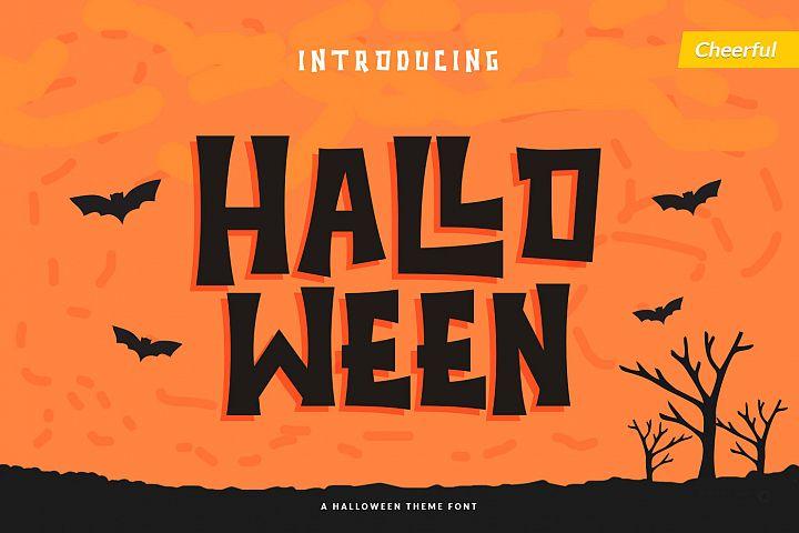 Halloween - Spooky Font