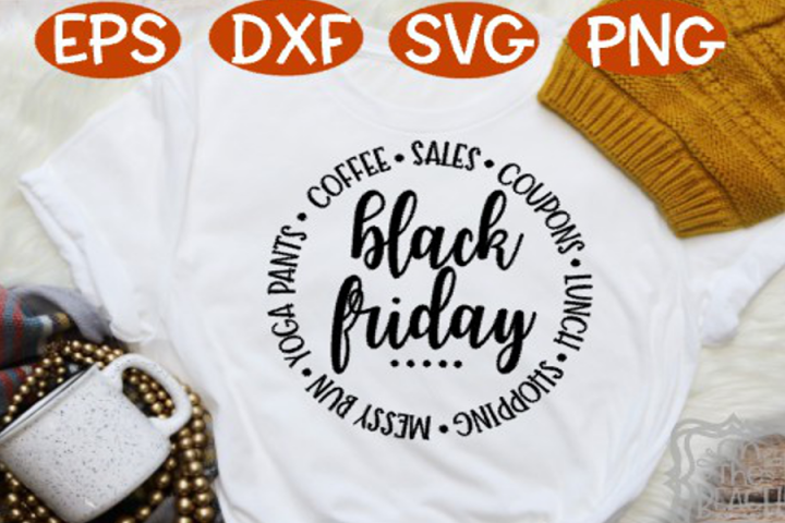Black Friday, Black Friday SVG