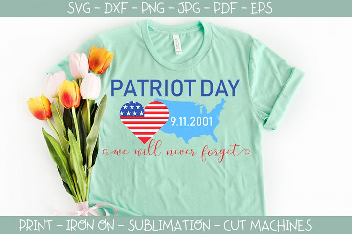 Patriot Day - 11 September Memory Day svg