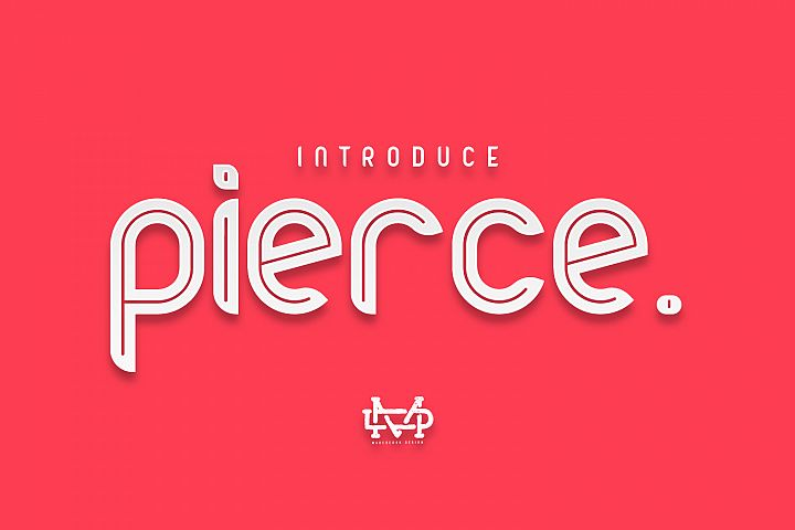 Pierce I NewBold Sans Serif I 30%OFF