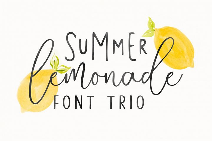 Summer Lemonade Extras