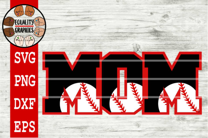 Baseball Mom SVGs | DXF | EPS | PNG | PDF