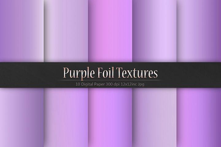 Purple Foil Textures