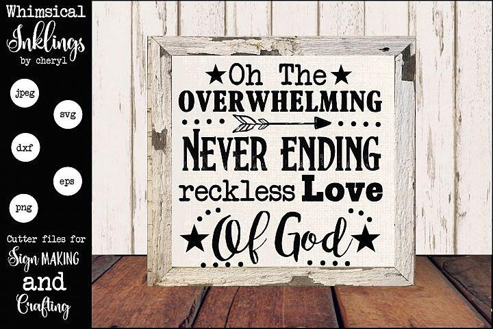 Love Of God SVG