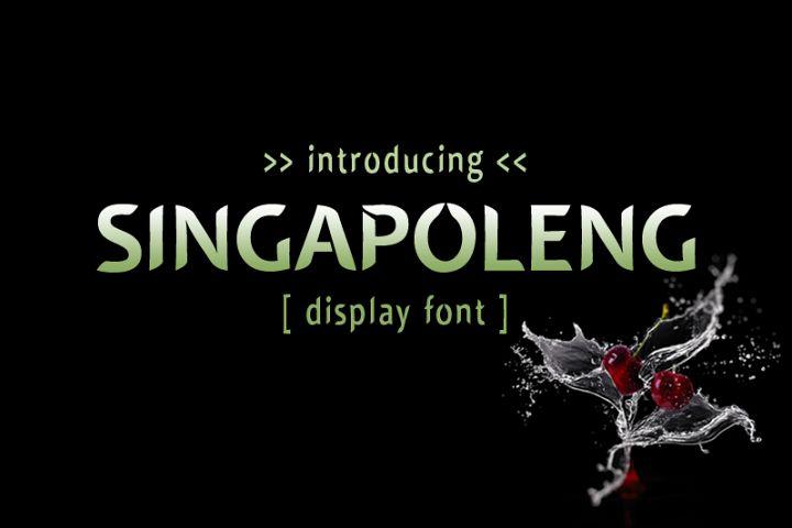 Singapoleng Font