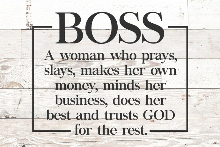 Boss Definition - Strong Black Woman svg