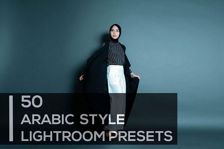 50 Premium Arabic Style Lightroom Presets