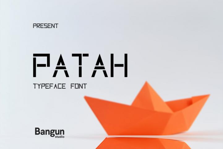 Patah Font