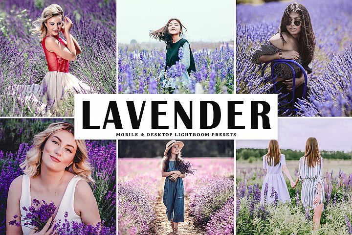 Lavender Mobile & Desktop Lightroom Presets
