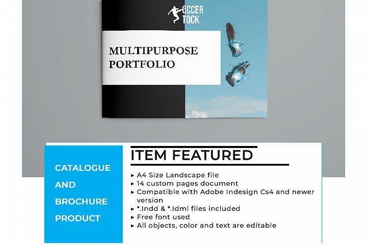 Clean and Elegant - A4 Landscape Brochure Template