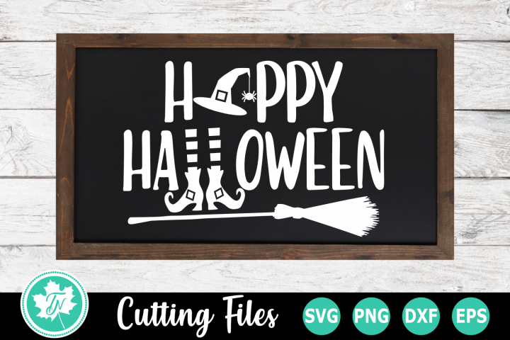 Happy Halloween - A Halloween SVG Cut File
