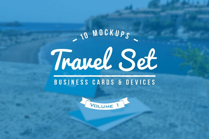 10 Fresh Business Card Mockups vol.1
