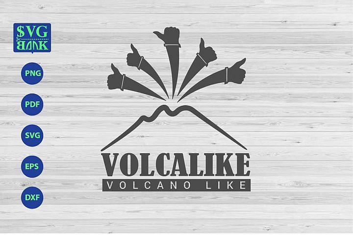 Volcano svg, volcano like artwork